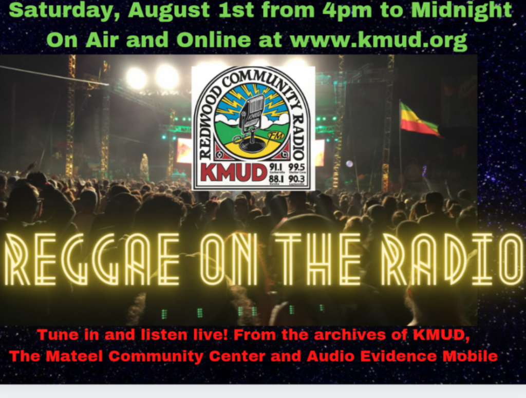 Reggae on the Radio: Sat 8/1 – 4pm-midnight